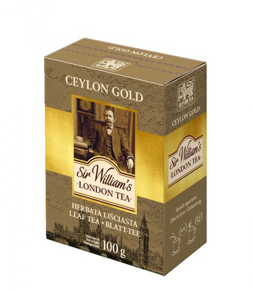 Herbata liśsiata ceylon gold sir william's london