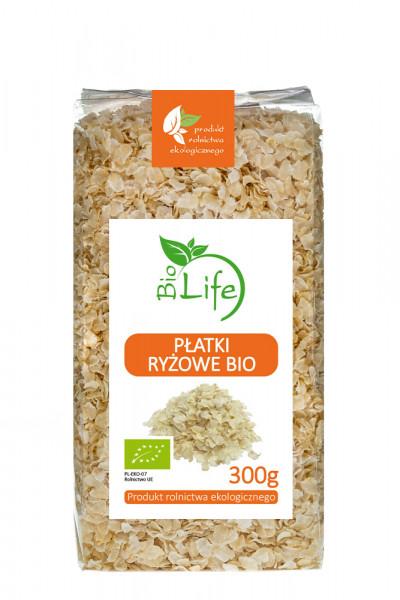 Płatki ryżowe bio Biolife