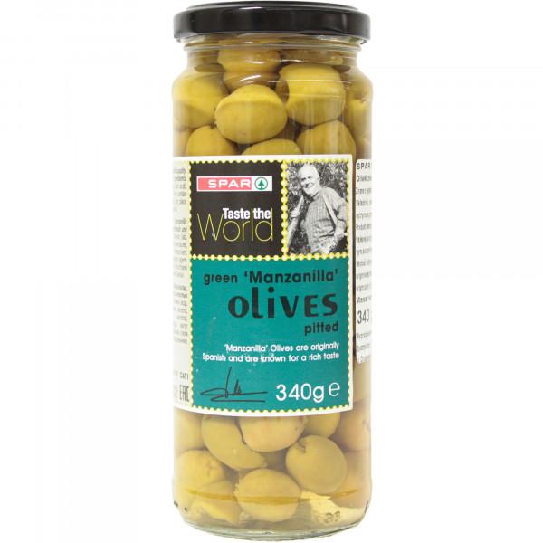 Spar oliwki zielone drylowane