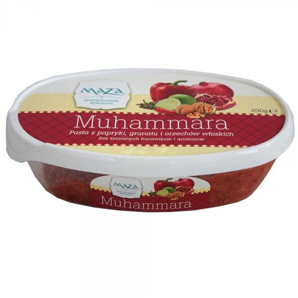 Muhammara Maza pasta z papryki, granatu i orzechów włoskich