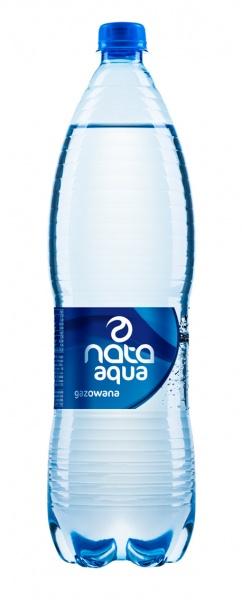 Woda mineralna gazowana nata aqua