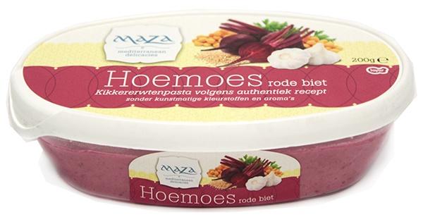 Hummus Maza z burakami