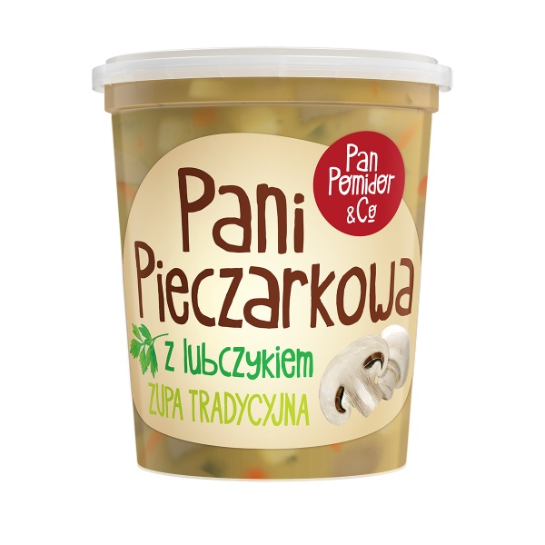 Zupa tradycyjna pani pieczarkowa urbanek.