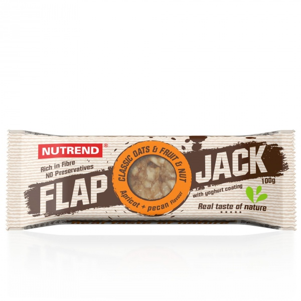 Baton flap jack czekolada banan.