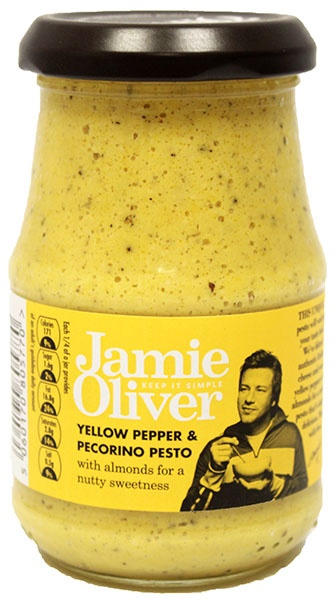 Pesto z żółtej papryki i sera pecorino Jamie Oliver