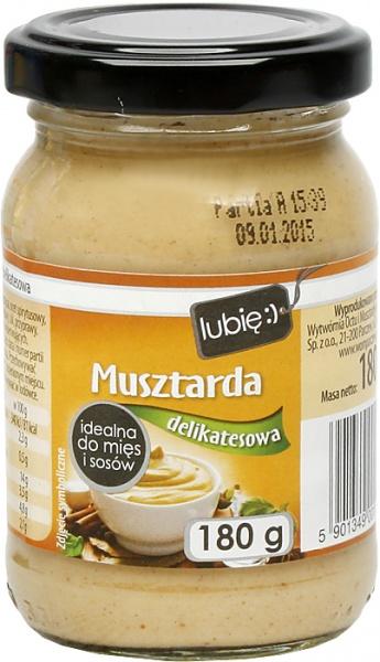 Musztarda delikatesowa - lubię:)