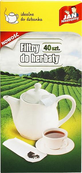 Filtry do herbaty dzbanek Jan Niezbędny