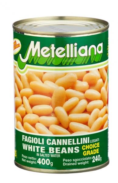 Fasola Metelliana biała cannellini