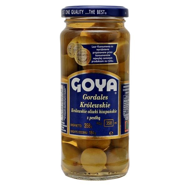 Oliwki Gordales z pestką Goya