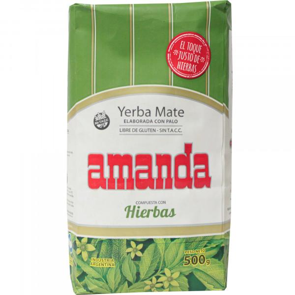 Herbata Amanda ziola
