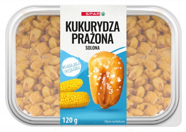 Spar kukurydza prażona solona 120g