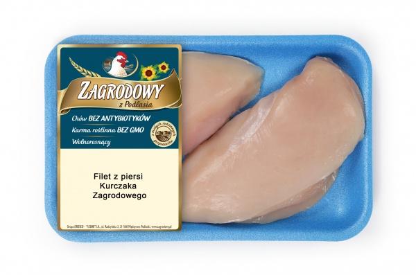 Filet z kurczaka zagrodowego-tacka
