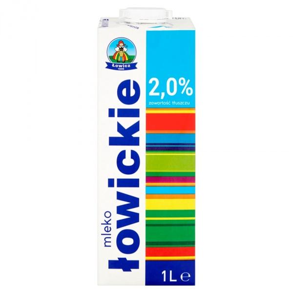 Mleko łowickie 2,0%