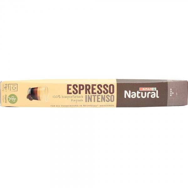 Spar natural kawa intenso organiczna kapsułki
