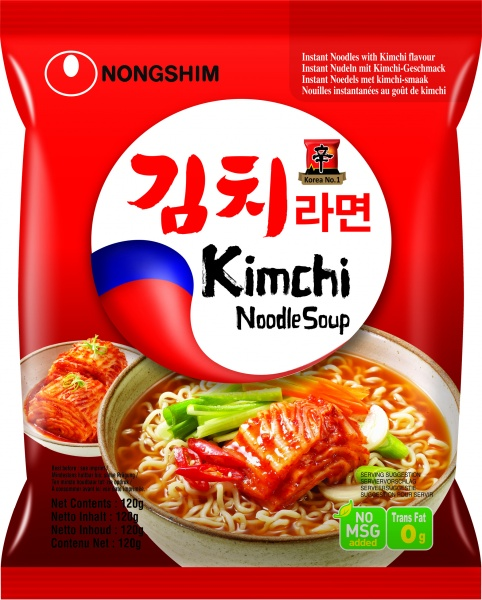 Zupa instant kim chi ramen