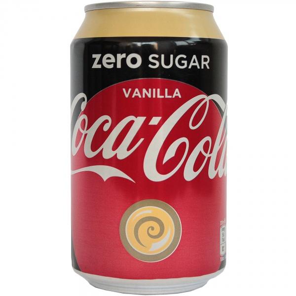 Napój gazowany Coca Cola vanilla zero