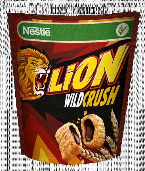 Nestlé Lion WildCrush Płatki śniadaniowe 350 g