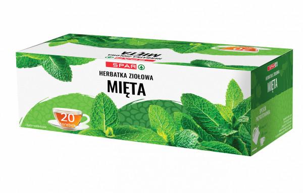 Spar herbatka ziołowa mięta 20x2g