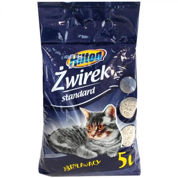 Żwirek Hilton dla kota bentonit