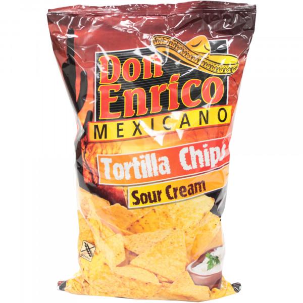 Chipsy Don Enrico mexicano tortilla kwaśna śmietana