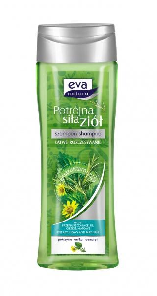 Eva natura potrójna siła ziół szampon pokrzywa