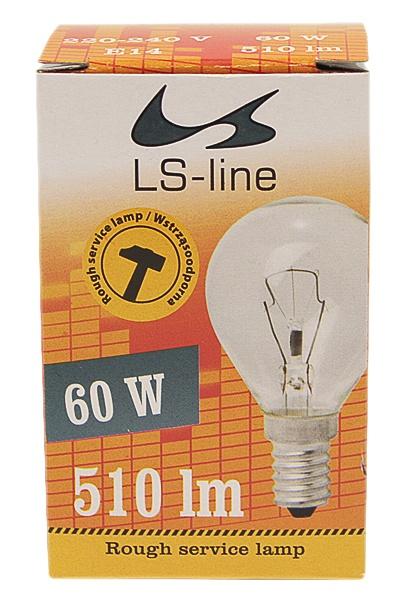 Żarówka kulista 60W E14 Is- line