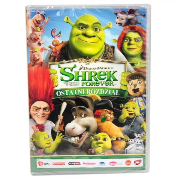 Bajki dvd shrek forever