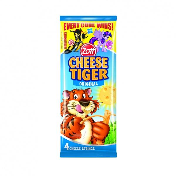 Paluszki serowe cheese tiger 4*21g.