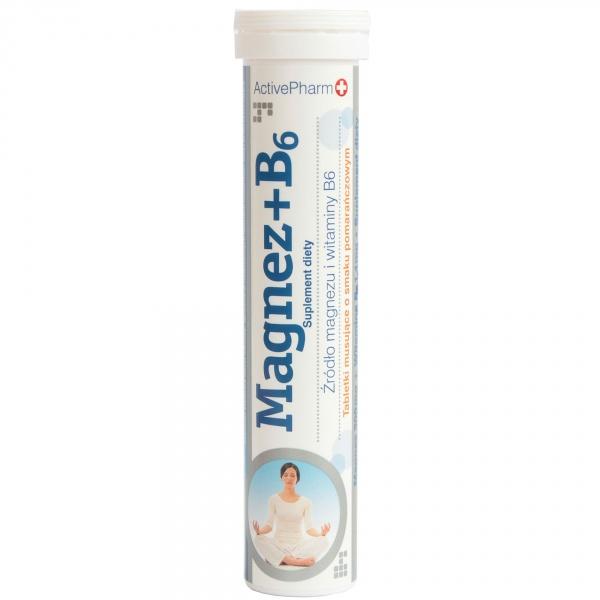 Tabletki musujące magnez + witamina B6