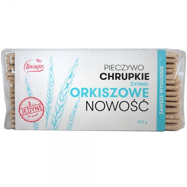 Pieczywo chrupkie żytnio-orkiszowe