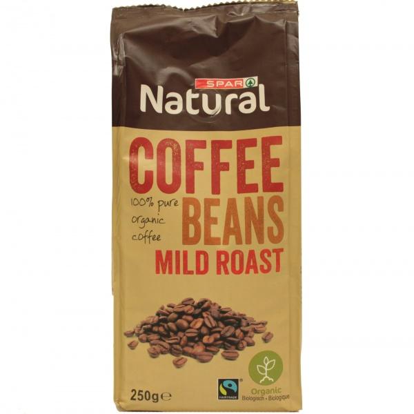 Spar kawa ziarnista łagodnie palona ekologiczna