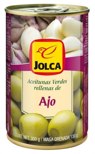 Oliwki Jolca z czosnkiem