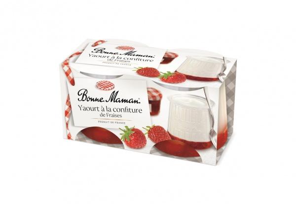 Jogurt z truskawkami bonne maman 2*125g