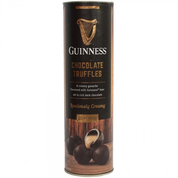 Guinness tuba trufle w czekoladzie deserowej