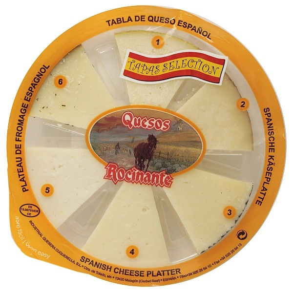 Deska serów hiszpańskich