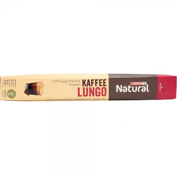 Spar natural kawa lungo organiczna kapsułki