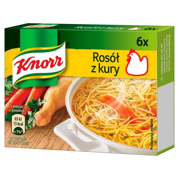 Bulion Knorr z kury 3l