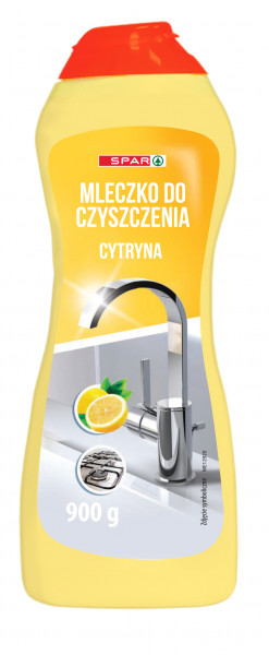 Spar mleczko do czyszczenia w kremie żółte