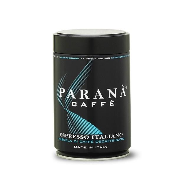 Kawa mielona bezkofeinowa espresso Italiano Parana puszka