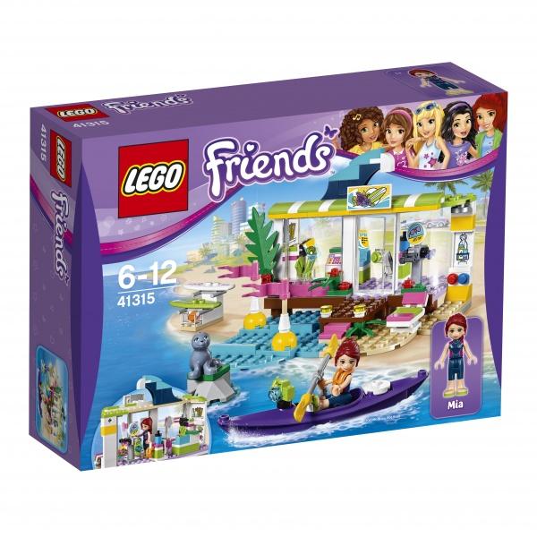 Klocki LEGO Friends Sklep dla surferów w Heartlake 41315