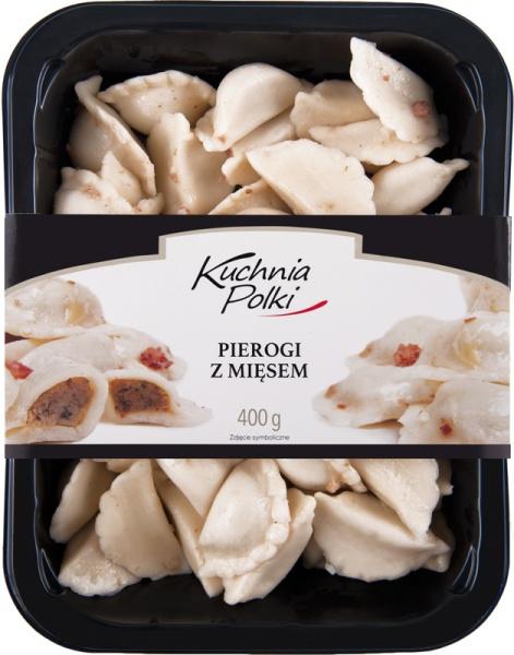 Pierogi z mięsem Kuchnia Polki