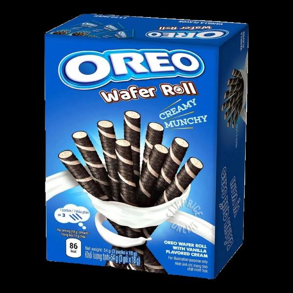 Oreo wafer roll vanilla
