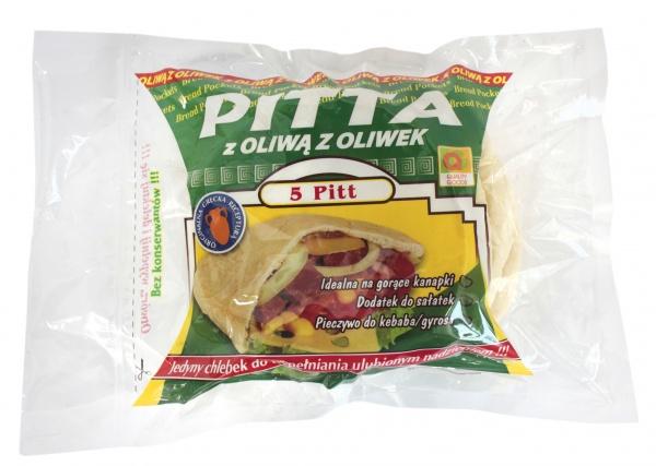 Pitta z oliwą z oliwek