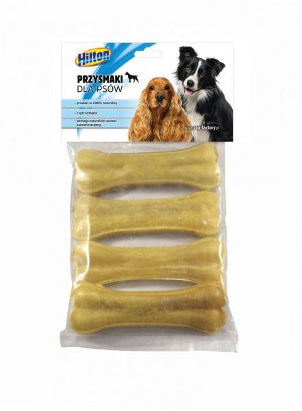 Kość prasowana dł.8,5cm dla psa