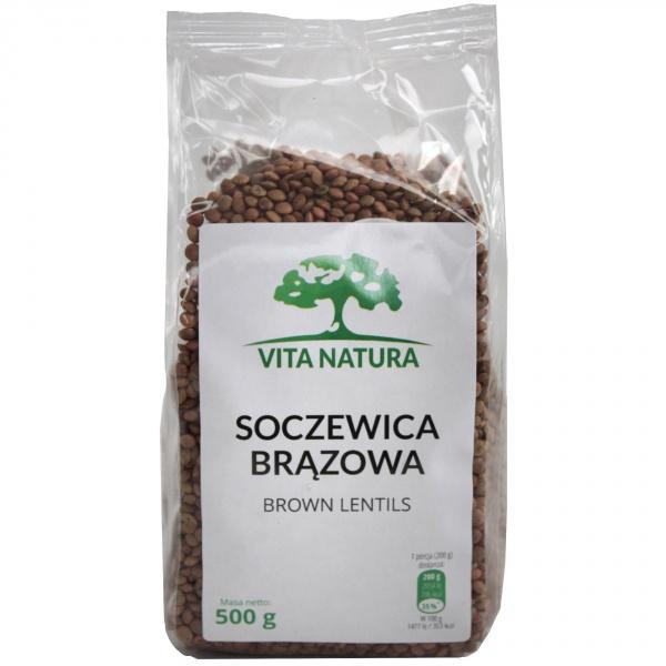 Soczewica brązowa Vita-Natura