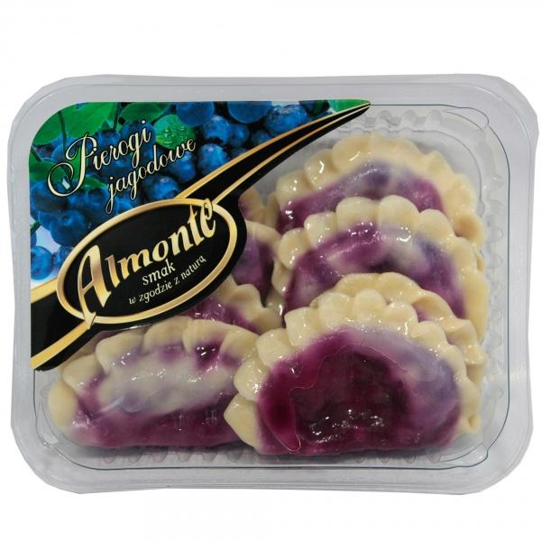 Pierogi jagodowe