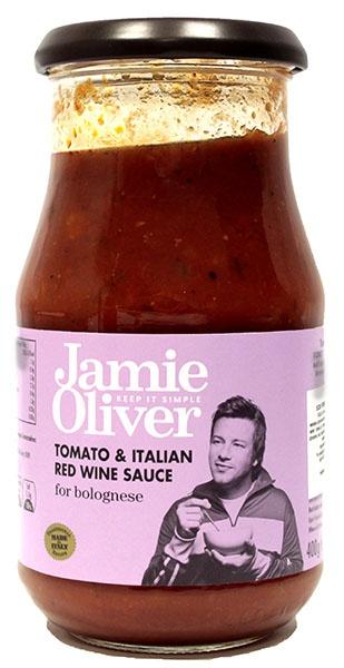 Sos bolognese z czerwonym winem Jamie Oliver