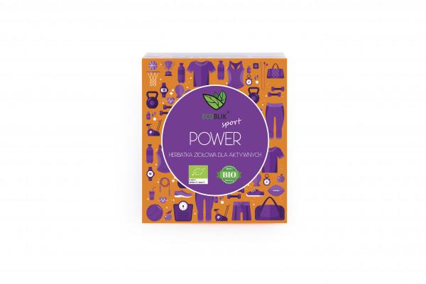 Herbata ecoblik ziołowa eksp.power eko