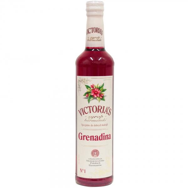 Syrop Victoria ' s grenadina