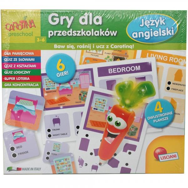 Carotina gry dla przedszkolaków - język angielski
